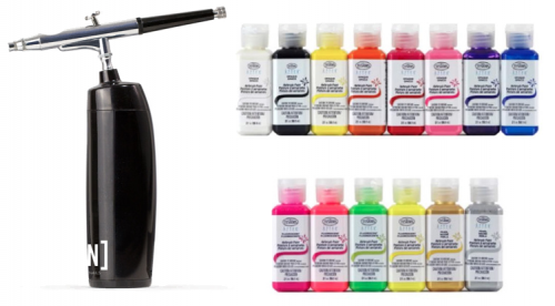 airbrush kit van young nails voor nailart airbrushen